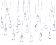 Electric lamps Royalty Free Stock Photography