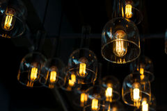 Electric lamps Royalty Free Stock Images