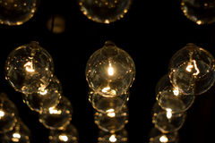 Electric lamps Royalty Free Stock Photos