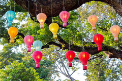 Electric Lanterns Stock Photos
