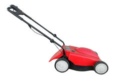 Electric Lawn Mower Royalty Free Stock Image