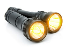 Electric LED torches Royalty Free Stock Photo