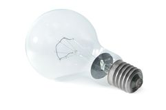 Electric light bulb Stock Image