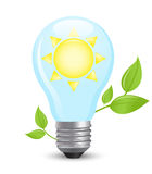 Electric light bulb Royalty Free Stock Image