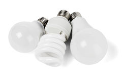 Electric Light Bulbs royalty free stock images