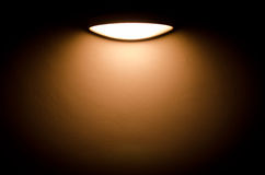 Light Box. Electric light in form of a box Royalty Free Stock Image