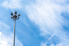 Electric light post Royalty Free Stock Photo