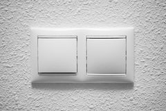Electric light switch Stock Image