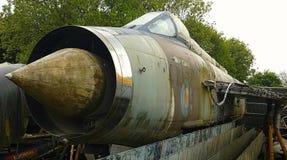 Electric Lightening. Royal air force lightening electric fighter aircraft airplane guns bombs war Stock Photos