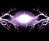 Electric lighting. Effect, abstract techno backgrounds Stock Illustration