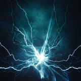Electric lighting effect. Abstract techno backgrounds for your design Vector Illustration