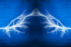 Electric lighting effect Stock Images