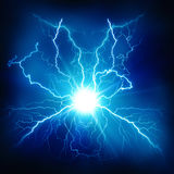 Electric lighting effect Royalty Free Stock Image