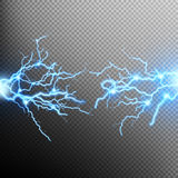 Electric lighting effect. EPS 10. Electric lighting effect, abstract techno backgrounds for your design. EPS 10 vector file included Royalty Free Illustration