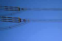 Electric line Stock Photos