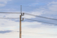 Electric line Stock Image