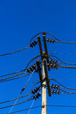 Electric line Stock Photo