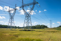 Electric line Stock Images