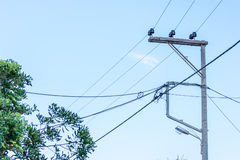 Electric line Stock Photos