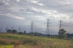 Electric Lines Stock Images