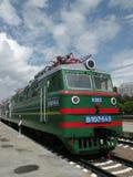 Electric locomotive royalty free stock photos