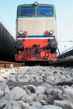 Electric locomotive Stock Photography