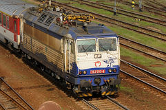 Electric locomotive 362 002 Stock Images