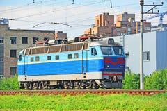 Electric Locomotive Stock Image