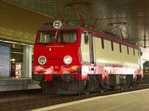 Electric locomotive Stock Photo