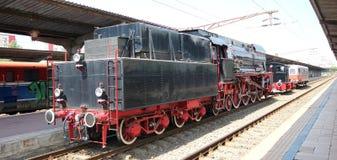 Electric locomotive Stock Photo