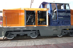 Electric locomotive Stock Image