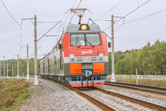 Electric locomotive. Royalty Free Stock Images