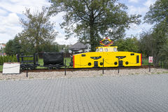 Electric locomotive in Museum Royalty Free Stock Photography