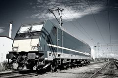 Electric locomotive Royalty Free Stock Image