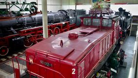 Electric locomotive Stock Photos