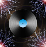 Electric LP Stock Photography