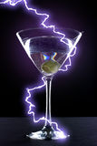 Electric Martini Stock Photography