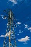 Electric mast Royalty Free Stock Image