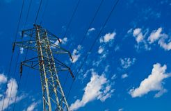 Electric mast Stock Photography
