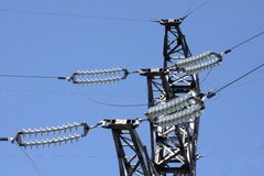 Electric masts Royalty Free Stock Photo