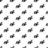 Electric meat grinder pattern, simple style Royalty Free Stock Photos