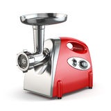 Electric meat grinder  on white. 3d Stock Photography