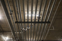 Electric Metal Tubing Stock Photo