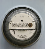 Electric Meter. Meter on outside of home Royalty Free Stock Photos