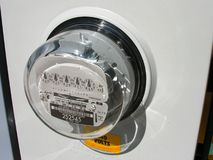Electric Meter. Stock Photography