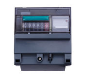 Electric Meter Stock Image