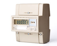 Electric meter. Royalty Free Stock Photography