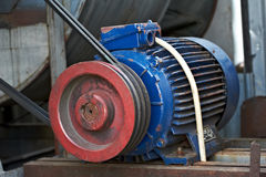 Electric motor Stock Image