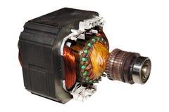 Electric motor stock photo
