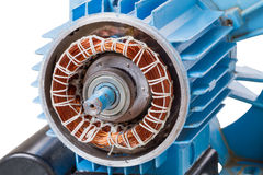Electric Motor stock photo